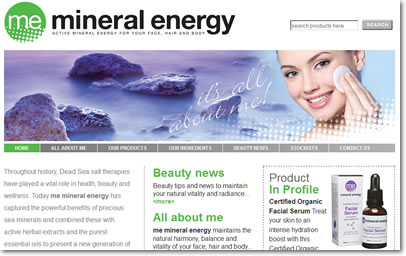 Mineral Energy Website